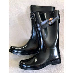 Coach Tara rainboots, size 8, NEW!